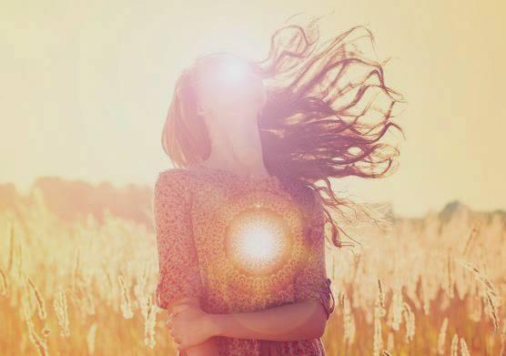 luz corazón